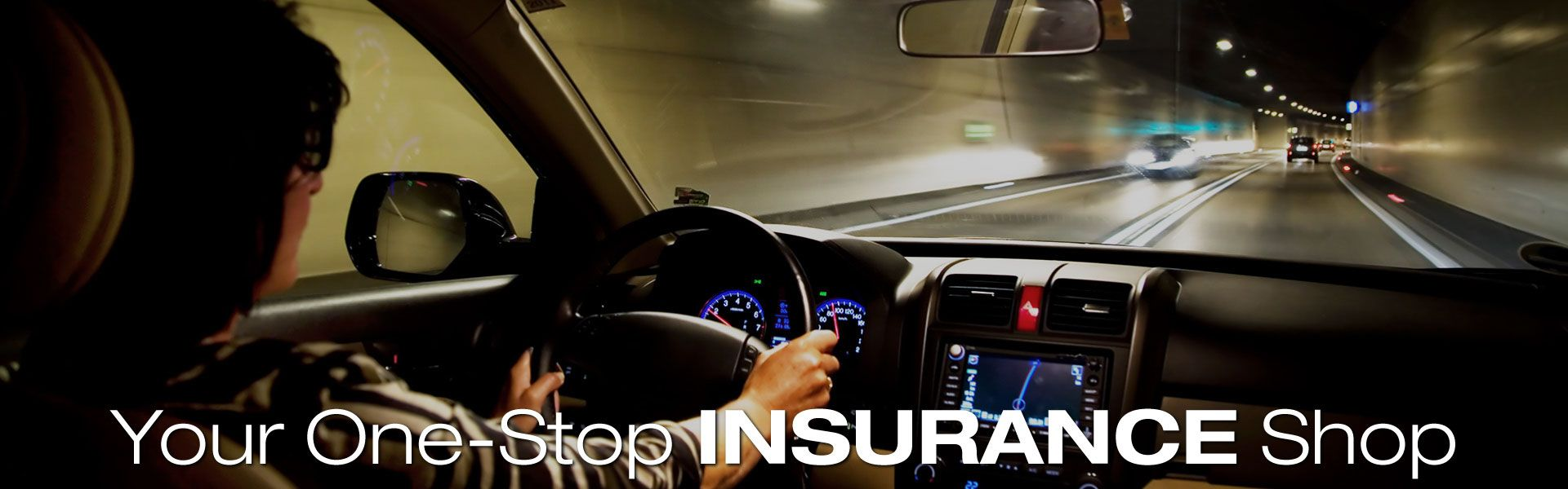 Your One-Stop Insurance Shop | Woman driving at night